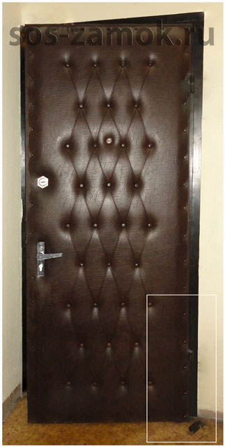 сварочные работы при ремонте металлических дверей