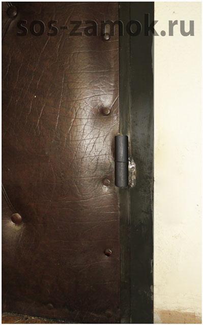 сварка петель металлической двери
